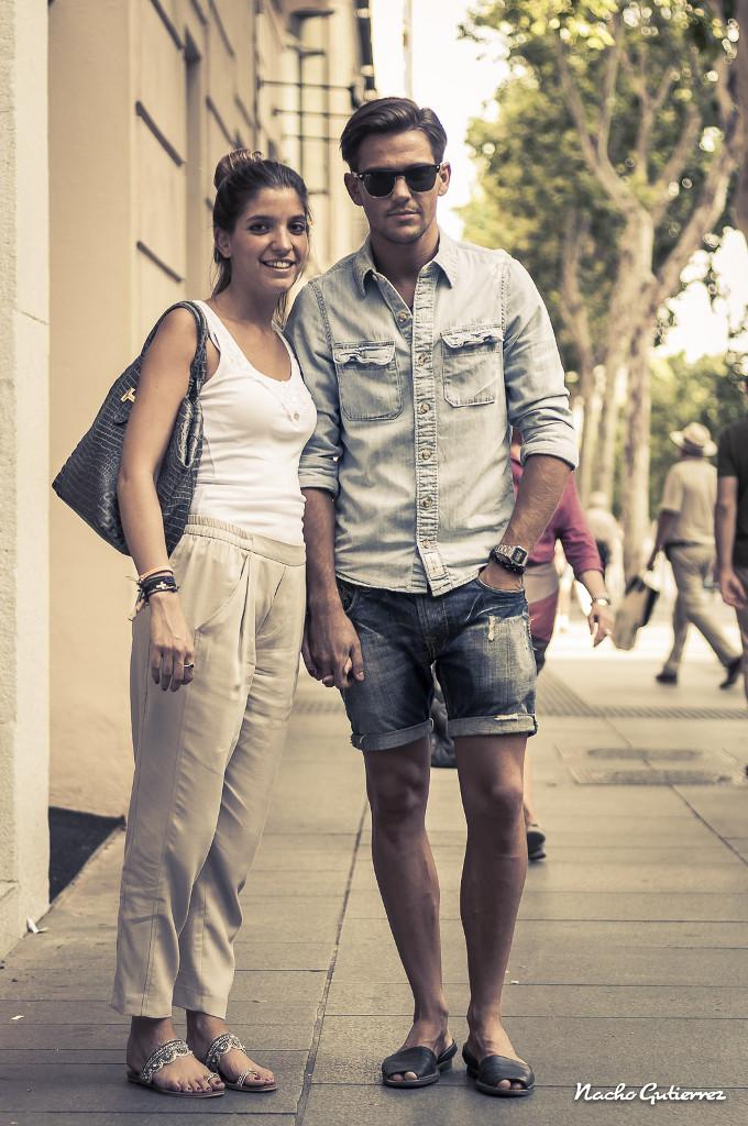 ¡Que buena pareja!