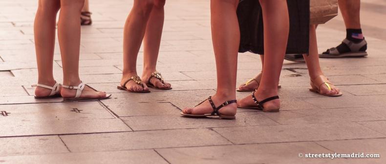 Sandalias, de todos los tipos.
