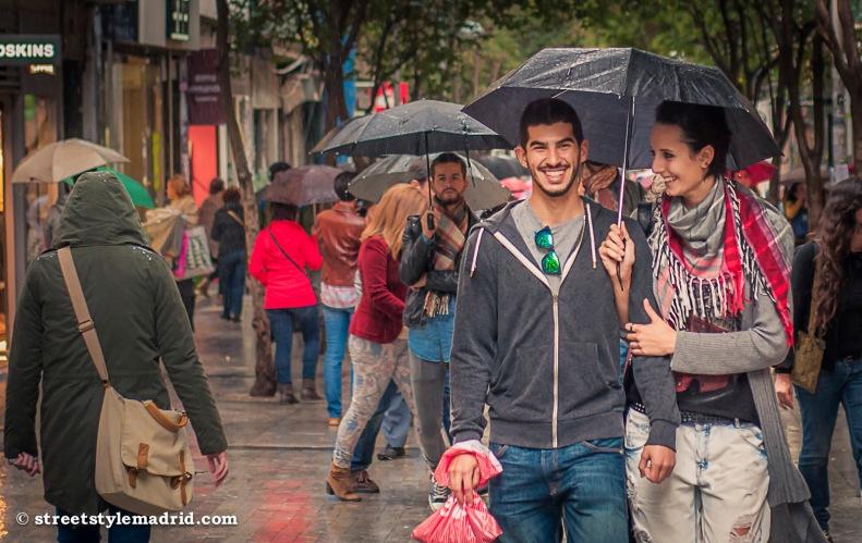 Confidencias bajo un paraguas