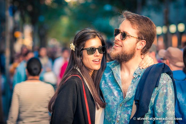 Street Style Madrid, gafas de sol