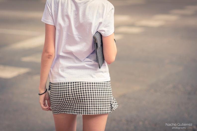 street style, madrid, moda, fashion, cuadros, falda, ootd, streetstyle,
