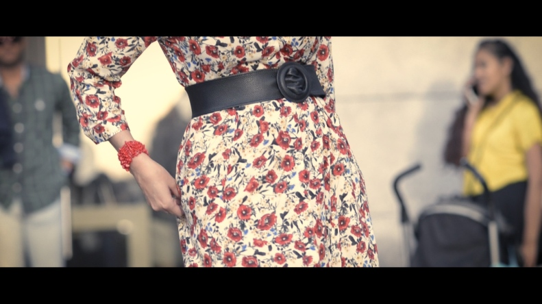 Street Style Madrid, Vestido, Flower dress